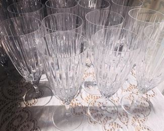 89 pieces of Waterford stemware. Many still have the tags.