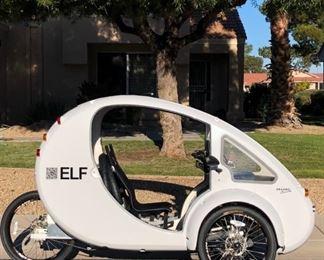 Organic Transit ELF Solar, Electric Bicycle