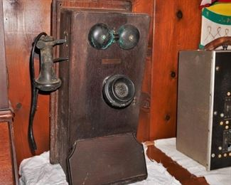 Western Electric wall phones