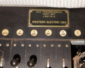 Western Electric transmission test set