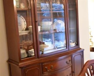 China Cabinet , Duncan Phyfe style