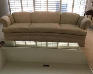 Off white 3 cushion sofa-excellet condition