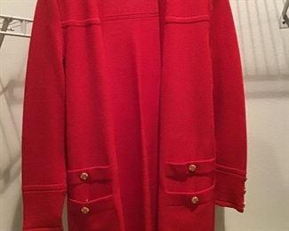 St. John knit jacket-sz. small (8)