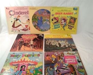 childrens  records including Disney