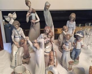 Nice Selection of Lladro.