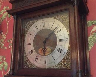 Thomas Finney Sheffield Grandfather Clock.
