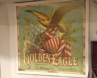 Golden Eagle Poster by T.C. Williams Co.