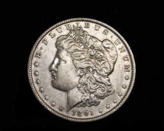 150 Morgan Silver Dollar