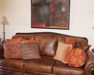 Sofa is sold, painting is still available and a steal at $110!