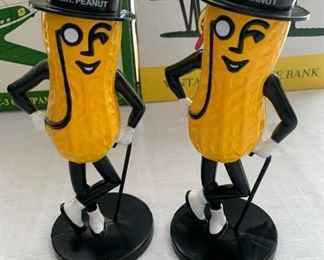 1990 Mr Peanut figureins