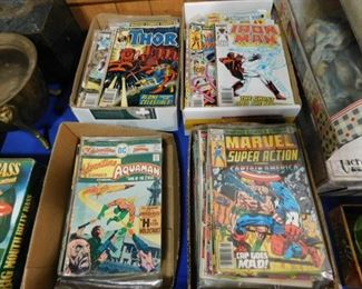 Vintage DC & Marvel Comic books