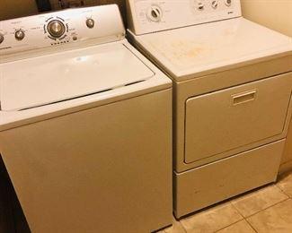 Maytag washing machine Kenmore dryer