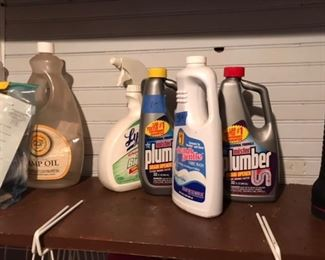 Lots of cleaning items still available