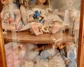 Porcelain Doll Collection.