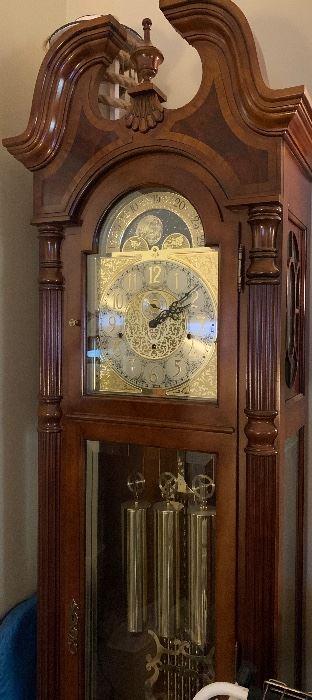 Sligh Grandfather Clock.