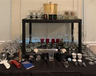 Interesting bar ware