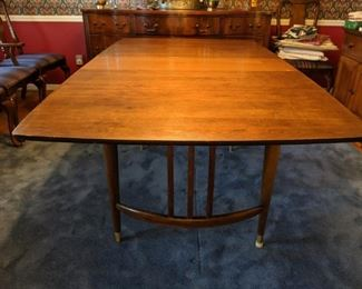 mid century modern, MCM, dining table