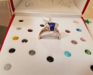 15 count colors of life rings - assorted sizes
