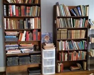oak stackable barrister bookcase $80