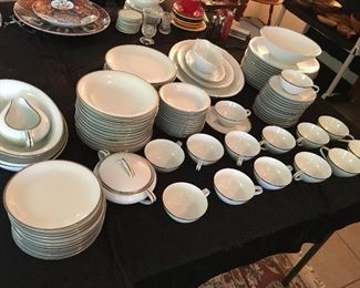 "Set of Noritake ""Silverdale"" 5594 China in very good condition"