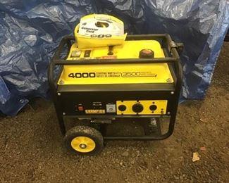 Portable Thirty Five Hundred Watt Generator
