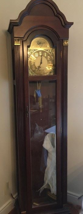 Grandfather clock; works well.