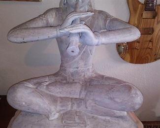 Wonderful wood carved figure