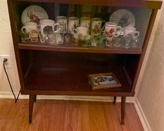 small size MCM sliding glass door cabinet