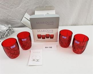 006 Waterford Marquis OldFashioned Glasses