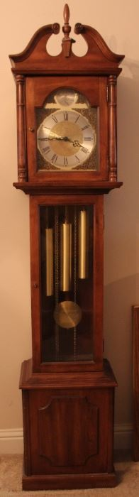Clock runs beautifully!  Chimes are very pretty and can easily be turned off and on.