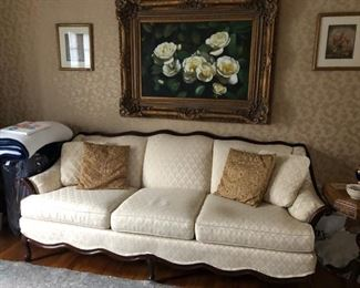Sofa, Painting