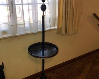 Early American Metal table lamp
