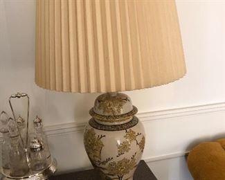 Antique Ming vase lamp