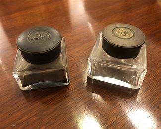 Antique ink wells