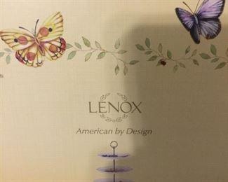 Lenox butterfly meadow 3 tier server