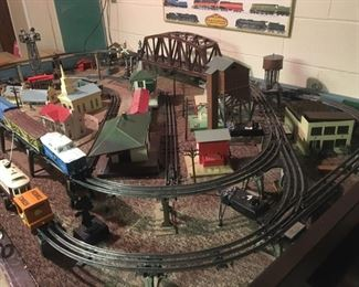 Large, Intricate, Vintage Train Set