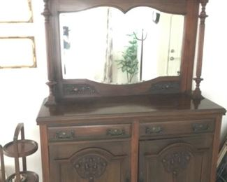 Vintage China Cabinet / Cupboard