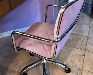 Small lavender desk chair