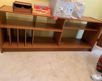 #8 handmade display tv cabinet with shelves 71x18x21  $ 200.00