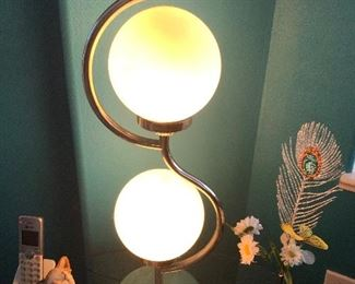 Very cool Art Deco lamp ( only 1) $40