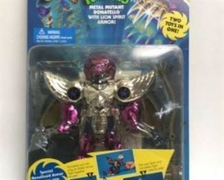 https://www.ebay.com/itm/124082618758 WY9003: TMNT METAL MUTANTS DONATELLO WITH LION SPIRIT ARMOR 1995