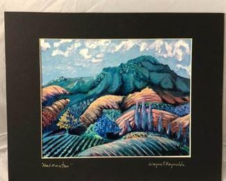 https://www.ebay.com/itm/114166292985 LAN9947: Wayne E Reyolds Hood Mountain Print Art $65 Local Pickup