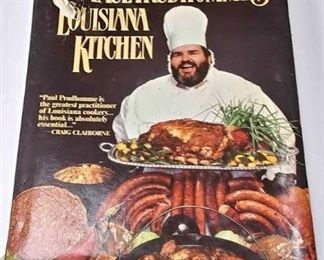 AB0223 CHEF PAUL PRUDHOMME'S LOUISIANA KITCHEN COOKBOOK$10.00   HARD COVER BOX 76 	Pay online by Venmo: @Rafael-Monzon-1, PayPal Email: Agesagoestatesales@Gmail.com, or Square Call for info 504-430-0909