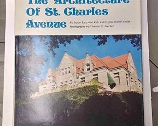 https://www.ebay.com/itm/124158325200	AB0225 THE ARCHITECTURE OF ST. CHARLES AVENUE $25.00 BOX 76