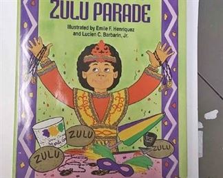 https://www.ebay.com/itm/124158326567	AB0226 D.J. AND THE ZULU PARADE HARD COVER illustrated CHILDRENS BOOK  BY DENISE WALTER MCCONDUIT $40.00 BOX 76