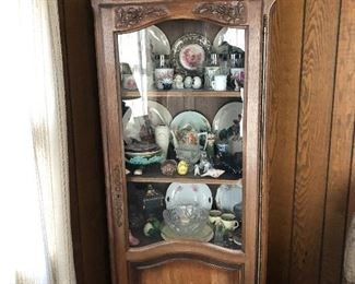 Antique china cabinet in excellent condition.