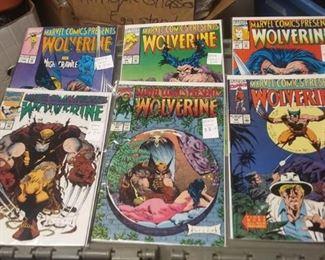 https://www.ebay.com/itm/114191564448AB0230 LOT OF 50 COMIC BOOKS MARVEL COMICS PRESENTS WOLVERINE  BOX 77 AB0230 $75