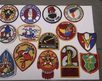 https://www.ebay.com/itm/124163998325AB0276 LOT OF 14 VINTAGE BOY SCOUTS OF AMERICA PATCHS  BOX 70 AB0276 $25