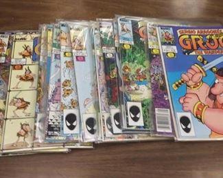 https://www.ebay.com/itm/114173827999BOX043A Sergio Aragone's GROO THE WANDERER COMIC BOOK lot. Contains books 1 thru 42.  $70