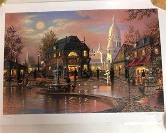 "https://www.ebay.com/itm/124135533193Cma2002: Kenneth Shotwell """"Paris Interlude- Fall"""" Signed and #/2250 1204/2250. Shotwell. Paris Interlude-Fall.  $70"